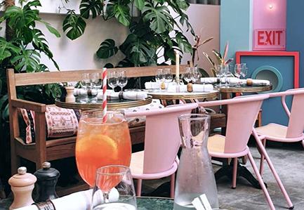 Hôtel Amour - Nice - Bar - Restaurant - Plage - Bar à Cocktail