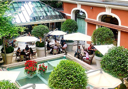 Hotel - Restaurant - Bar - Bar à cocktail - Royal Monceau - Paris