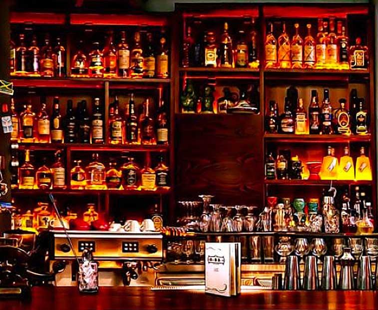 L'histoire du bar pour une création de cocktail