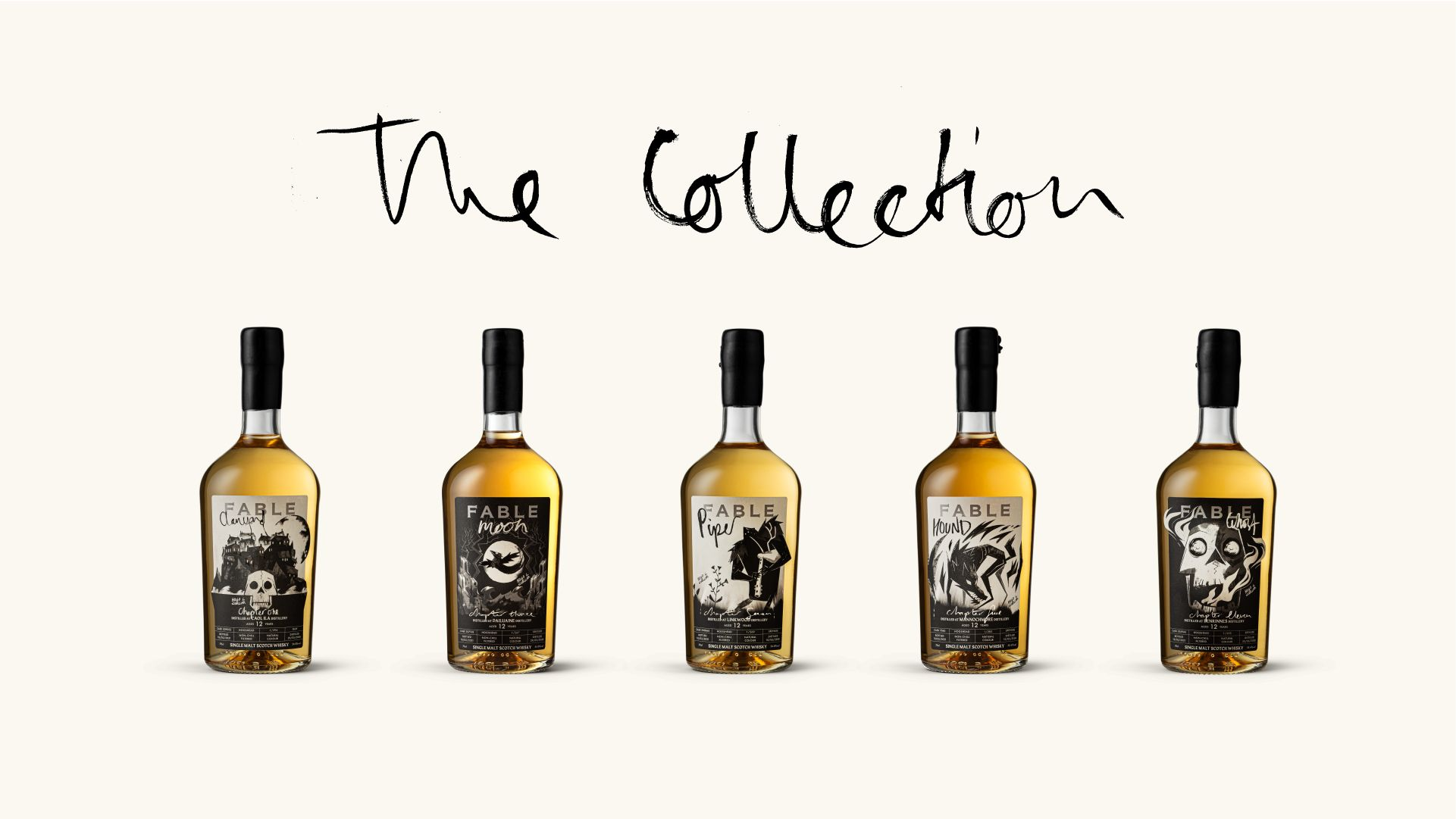 Fable whisky - The collection - Bouteille - Whisky - Distillerie - Ecosse