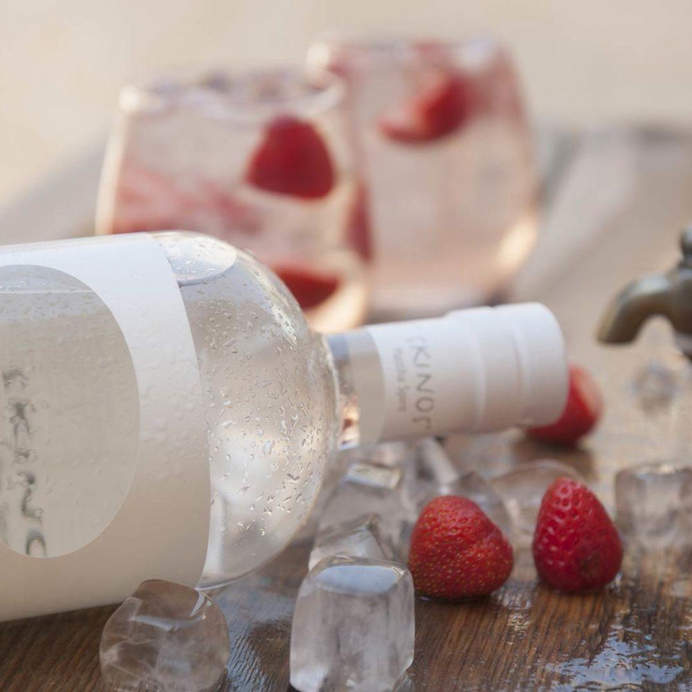 Skinos Strawberries - Alcool - Alcool Grec - Spiritueux - Liqueur - Apéritif